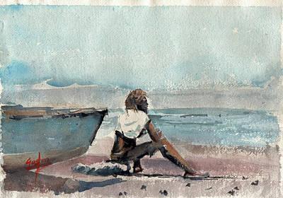 Painting - Land Far Away by Gaston McKenzie