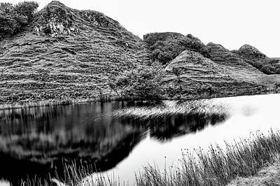 Photograph - Land Of Hobbits Bw #g8 by Leif Sohlman