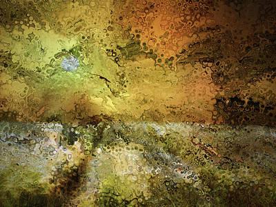 Digital Art - Land Of Honey Abstract by Georgiana Romanovna