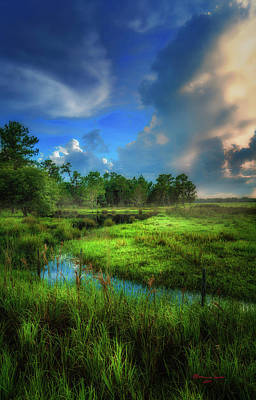 Spring Scenery Photograph - Land Of Milk And Honey by Marvin Spates