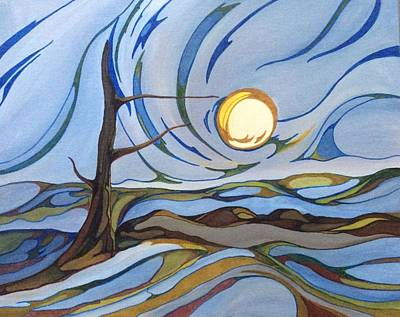 Painting - Land Of The Midnight Sun by Pat Purdy