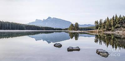 Symmetry Photograph - Land Of Thousand Lakes by Evelina Kremsdorf