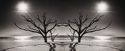 Photograph - Land Of Two Suns by Peg Runyan