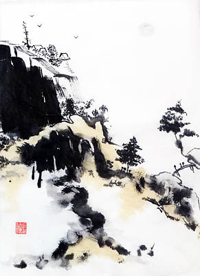 Painting - Land Of Zen by Casey Shannon