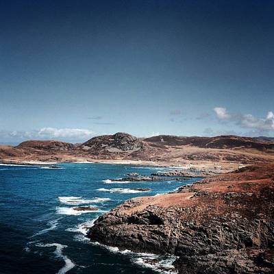 Land On The Edge Of The World - Ardnamurchan #5 Print by Kate Morton