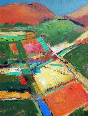 Painting - Land Patches by Gary Coleman