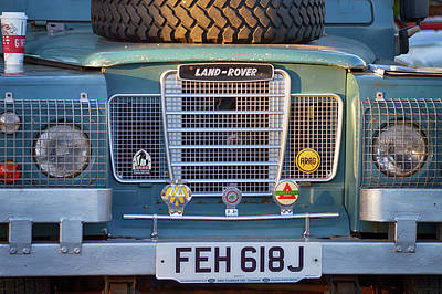 Photograph - Land Rover Nose by Bill Dutting