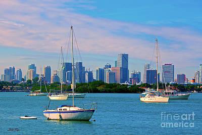 Photograph - Land Sea And Sail by Judy Kay