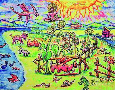 Painting - Land by Viktor Lazarev