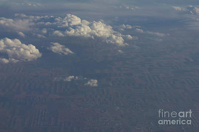 Photograph - Land With Clouds by Donna L Munro