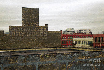 Digital Art - Landauer And Co Dry Goods by David Blank