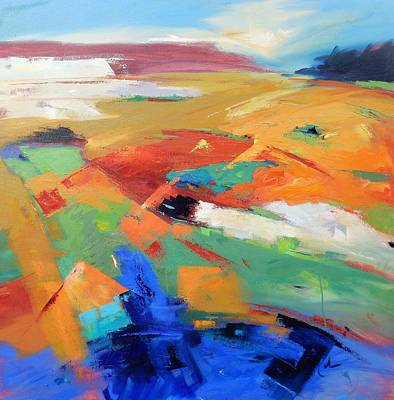 Painting - Landforms, Suggestion Of Place by Gary Coleman
