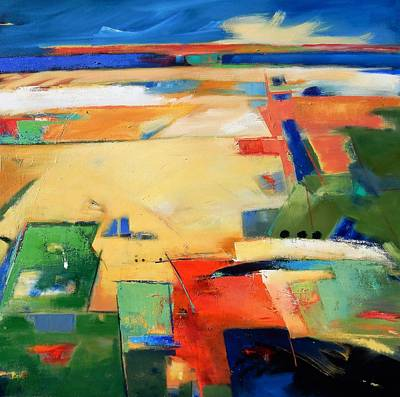 Painting - Landforms, You've Never Been Here by Gary Coleman