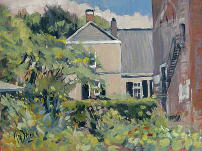 Painting - Landgoed Poelwijk Gendt by Nop Briex