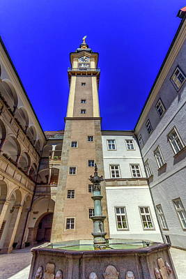 Photograph - Landhaus, Linz, Austria by Elenarts - Elena Duvernay photo