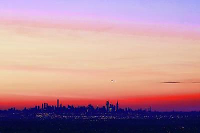 Photograph - Landing At Sunrise by Allen Beatty