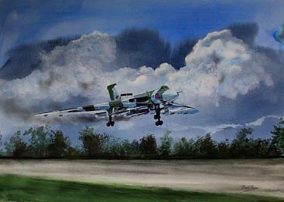 Painting - Landing In The Dusk by Steve Jones