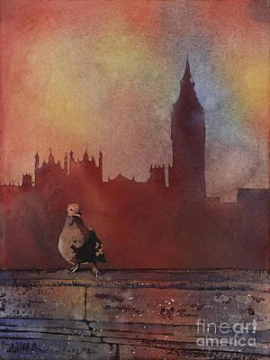 Landing Place- London Original by Ryan Fox