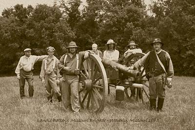 Photograph - Landis Battery Missouri Brigade by David Dunham