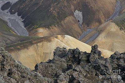 Photograph - Landmannalaugar Iceland 3 by Rudi Prott