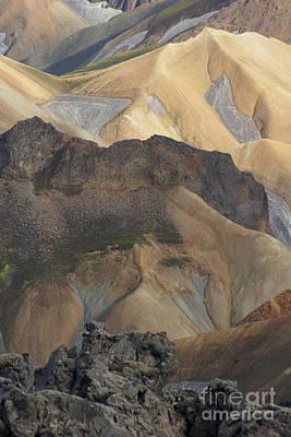 Photograph - Landmannalaugar Iceland 5 by Rudi Prott