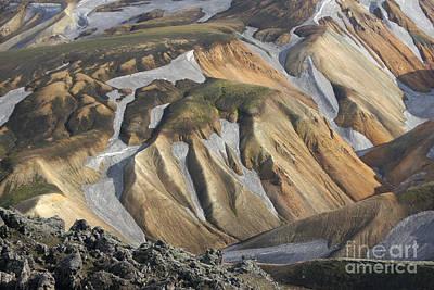 Photograph - Landmannalaugar Iceland by Rudi Prott