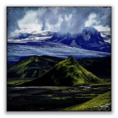 Landmannalaugar Art Print by Ingrid Smith-Johnsen
