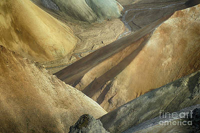 Photograph - Landmannalaugar Natural Art Iceland 2 by Rudi Prott