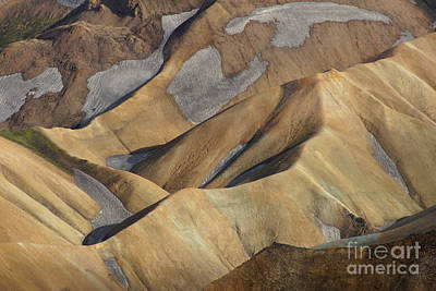 Photograph - Landmannalaugar Natural Art Iceland by Rudi Prott