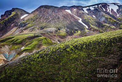 Photograph - Landmannalaugar Ridges by Inge Johnsson