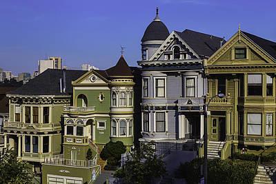 Photograph - Landmark Houses by Garry Gay