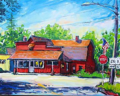 Painting - Landmark Six by Les Leffingwell