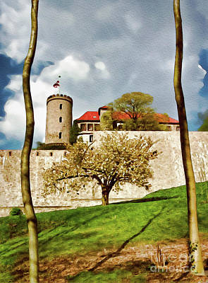 Photograph - Landmark Sparrenburg Castle by Gabriele Pomykaj