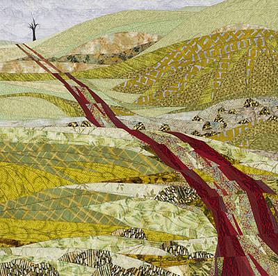 Tapestry - Textile - Landmarks by Linda Beach