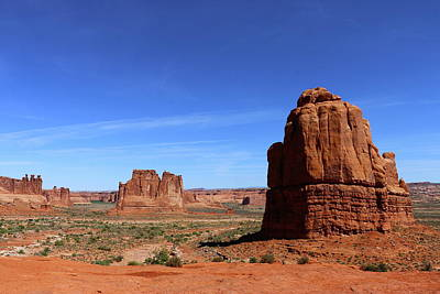 Photograph - Landmarks Of The Arches Np by Christiane Schulze Art And Photography