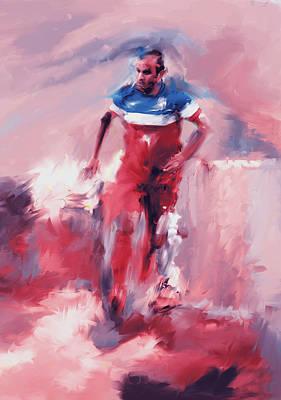 Landon Donovan Painting - Landon Donovan 545 2 by Mawra Tahreem