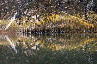 Photograph - Landro Valley Reflection by Michael Blanchette
