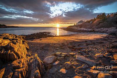Photograph - Land's End Beach by Benjamin Williamson