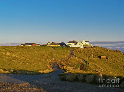 Land's End Complex Print by Terri Waters