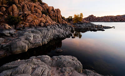 Watson Lake Photograph - Land's End by Michael Smith-Sardior