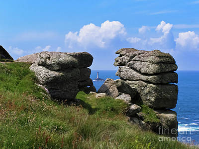 Sennen Cove Photograph - Land's End Rocks by Terri Waters