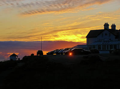 Photograph - Lands End Silhouettes by Terri Waters