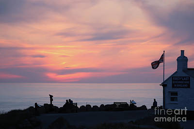 Photograph - Land's End Sunset by Terri Waters