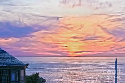 Photograph - Land's End Surreal Sunset by Terri Waters