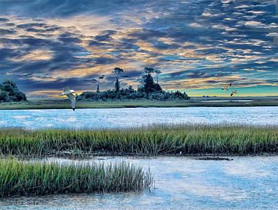 Tom Schmidt Painting - Lands End by Tom Schmidt