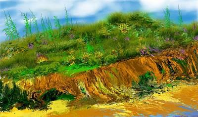Digital Art - Landscape 012711 by David Lane