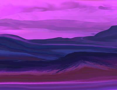 Digital Art - Landscape 022011 by David Lane