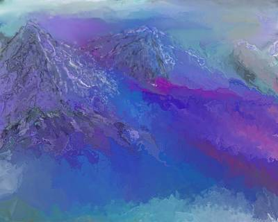 Mindscape Digital Art - Landscape 030411 by David Lane
