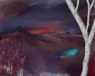 Mindscape Digital Art - Landscape 030711 by David Lane