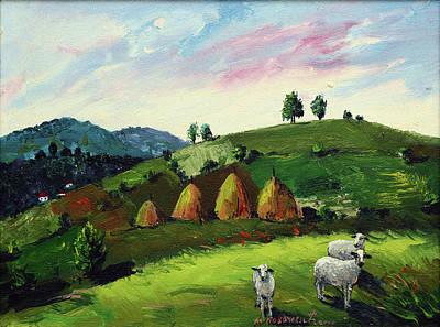 Mirko Painting - Landscape 0455 by Mirko Kovacevic